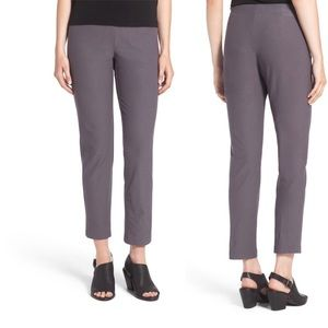 NWOT Eileen Fisher stretch crepe slim ankle pants